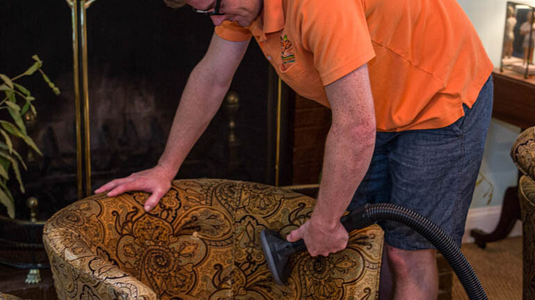 uphostery and furniture cleaning in asheville